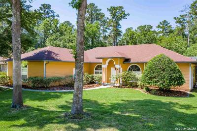 Gainesville Single Family Home For Sale: 7802 NW 56TH Way