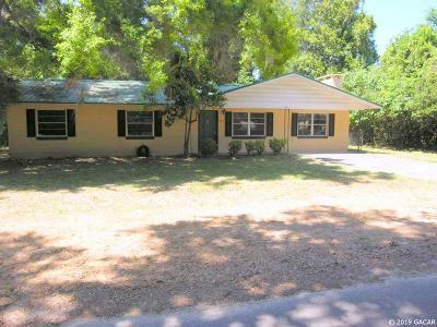 Williston Single Family Home For Sale: 424 SE 1 Avenue