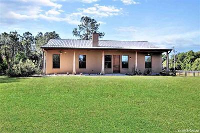 Reddick Single Family Home For Sale: 15636 N HWY 329