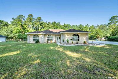 High Springs Single Family Home For Sale: 20052 NW 258th Drive