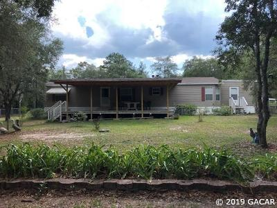 Archer Single Family Home For Sale: 11250 NE 101 Terrace