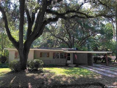 Gainesville Single Family Home For Sale: 1515 NE 7th Terrace