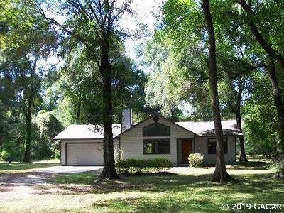 Micanopy Single Family Home Pending: 5909 SW 127 Avenue