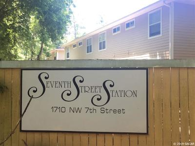 Gainesville Condo/Townhouse For Sale: 1710 NW 7 Street #203