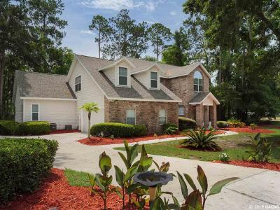 Gainesville Single Family Home For Sale: 4301 NW 51ST Drive