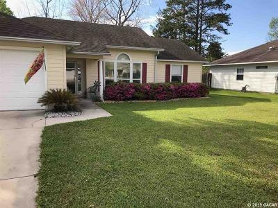 Alachua Single Family Home For Sale: 11106 NW 60TH Terrace
