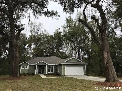 Alachua Single Family Home For Sale: 15707 NW 121st Lane