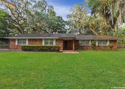 Gainesville Single Family Home For Sale: 8119 W NEWBERRY Road
