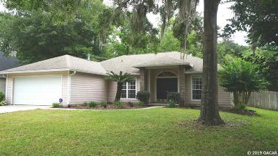 Gainesville Single Family Home For Sale: 11607 NW 13th Lane
