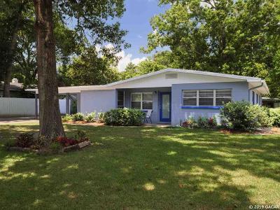 Gainesville Single Family Home For Sale: 2224 NE 9th Terrace