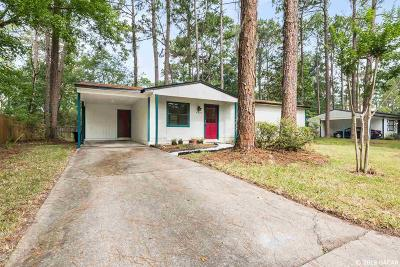 Gainesville Single Family Home For Sale: 4520 NW 27TH Terrace