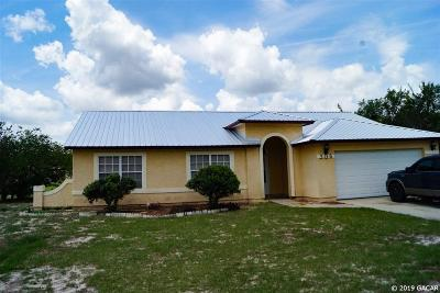 Ocala Single Family Home For Sale: 306 OAK TRACK RAD