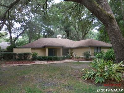 Gainesville Single Family Home For Sale: 2128 SW 77th Terrace