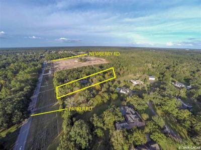 Gainesville Residential Lots & Land For Sale: 309 NW 122nd Street