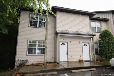 Gainesville Condo/Townhouse For Sale: 237 SE 16th Avenue #14