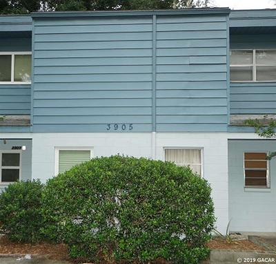 Gainesville Condo/Townhouse For Sale: 3905 SW 26TH Terrace #C