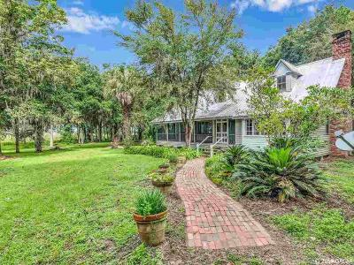 Micanopy Single Family Home For Sale: 17100 SW 10th Terrace