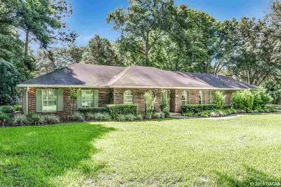 Gainesville Single Family Home For Sale: 105 NW 80th Boulevard