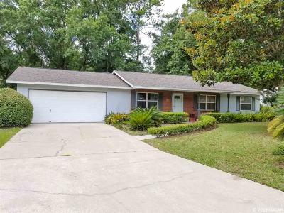 Gainesville FL Single Family Home For Sale: $184,900