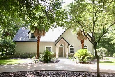 Gainesville Single Family Home For Sale: 5505 NW 91ST Boulevard