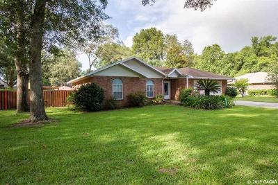 Newberry Single Family Home Pending: 25247 SW 17th Avenue