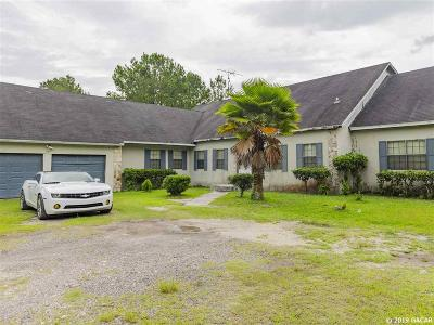 Micanopy Single Family Home For Sale: 11909 SW 3rd Terrace