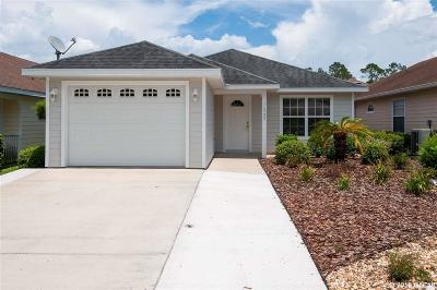Alachua Single Family Home For Sale: 11737 NW 61ST Terrace