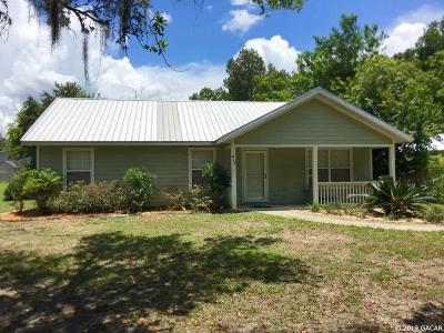 Williston FL Single Family Home For Sale: $145,000