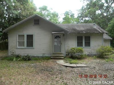 Gainesville Single Family Home For Sale: 4144 NW 12th Terrace
