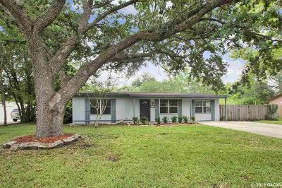 Gainesville Single Family Home For Sale: 6705 NW 29th Terrace
