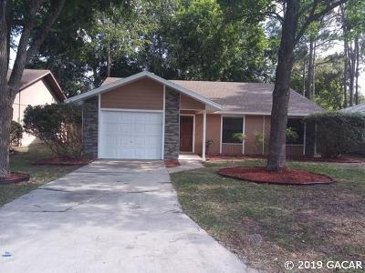 Gainesville Single Family Home For Sale: 3729 NW 62ND Place