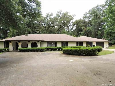 Gainesville Single Family Home For Sale: 3332 NW 133rd Street