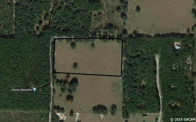 High Springs Residential Lots & Land For Sale: 15307 NW 237 Terrace