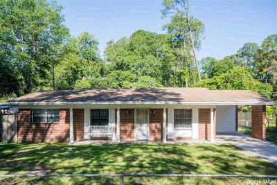 Gainesville Single Family Home For Sale: 1610 NE 16TH Terrace