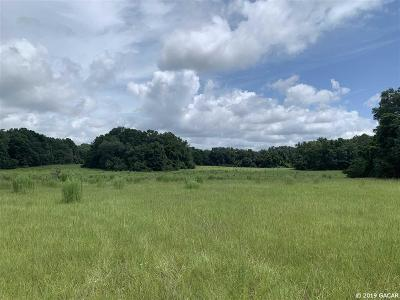 High Springs Residential Lots & Land For Sale: TBD NW 261st Terrace