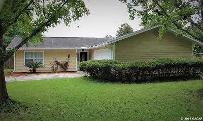 Alachua Single Family Home For Sale: 6025 NW 113th Place