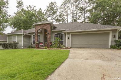 Gainesville Single Family Home For Sale: 1406 NW 117TH Terrace
