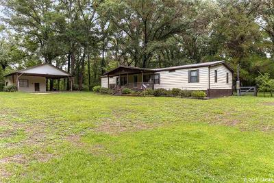 Alachua Single Family Home For Sale: 10613 NW 173RD Street