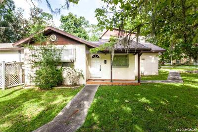 Gainesville Single Family Home For Sale: 3511 NW 13th Street