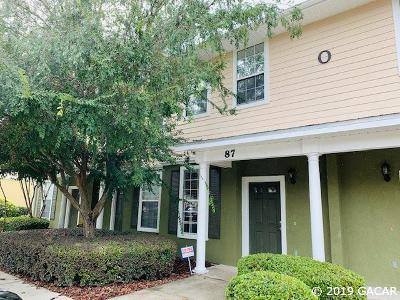 Gainesville Condo/Townhouse For Sale: 2508 SW 35th Place #O-87