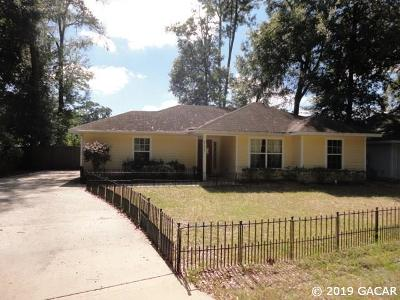 Gainesville FL Single Family Home For Sale: $152,000