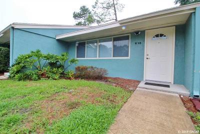Gainesville FL Condo/Townhouse For Sale: $84,500