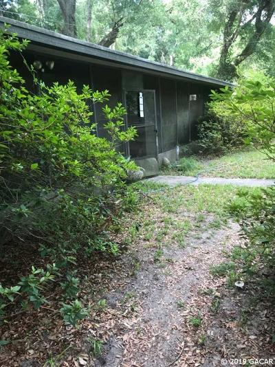 Gainesville FL Single Family Home For Sale: $19,500