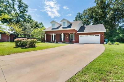 Newberry Single Family Home For Sale: 25033 SW 22nd Avenue
