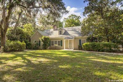 Gainesville FL Single Family Home For Sale: $414,000