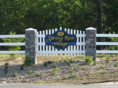 High Springs Residential Lots & Land For Sale: Lot 7 NE 48 Court