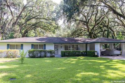 Gainesville Single Family Home For Sale: 1717 SW 49th Place