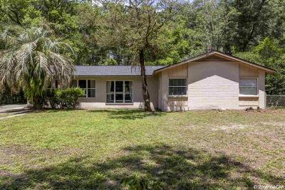 Gainesville Single Family Home For Sale: 108 NW 36TH Drive