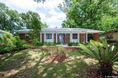 Gainesville Single Family Home For Sale: 2907 NE 19th Street