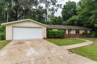 Gainesville Single Family Home For Sale: 4721 NW 39 Street